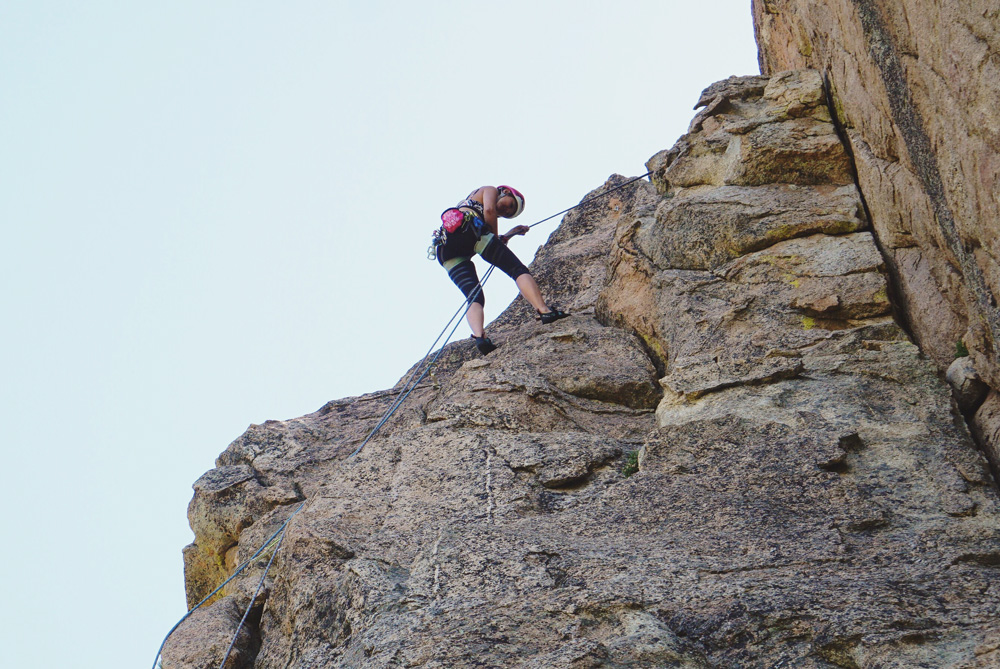 40482451e45a1 Learning How To Rappel at Castle Rock - Ascend In Style