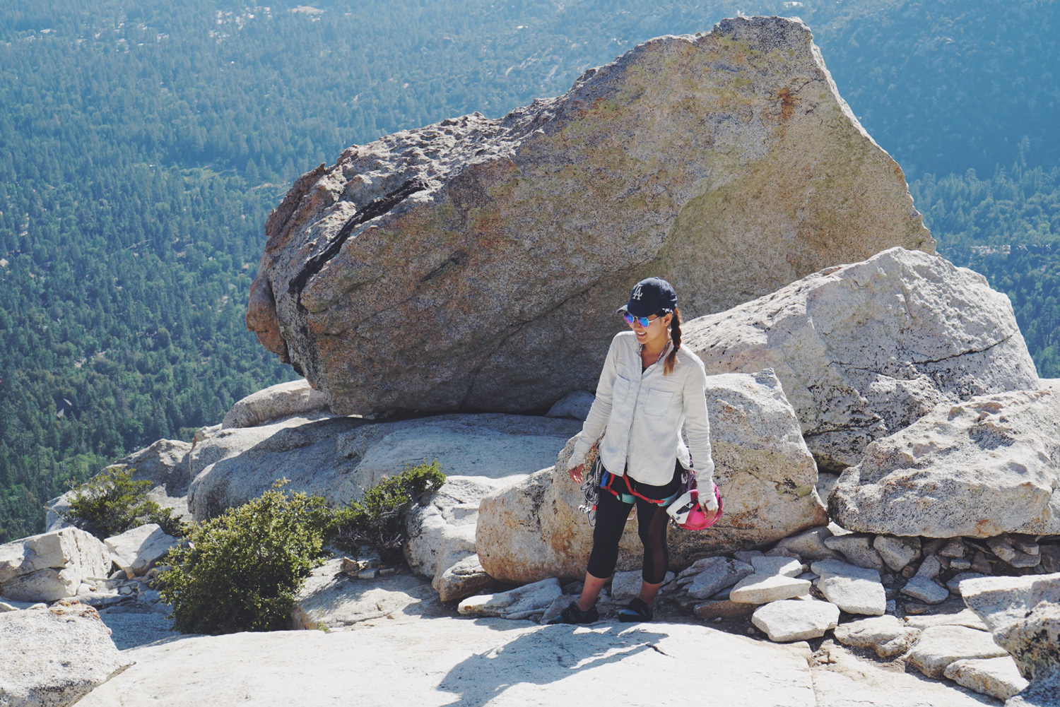 Me at the top of Tahquitz