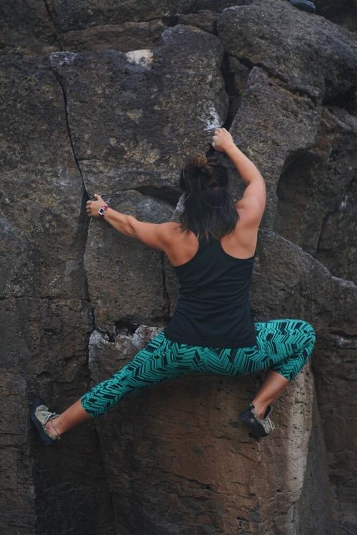 perfect climbing form